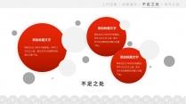 【商务】轻中式红白灰年终总结6示例7