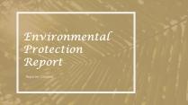 素雅自然环境模板