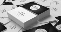 【Keynote】商务报告系列06_黑白双色模板