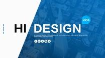 【两种配色】渐变色企业公司品牌产品发布PPT示例2