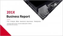 【企业画册-6】简约大气通用商务报告模板