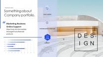 【智能粒子】科技创意数据理性高品质商业多用途模版示例5