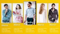 【年终报告】黄色设计创意欧美简约商务PPT模板示例6