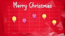 【圣诞新年】红白庆典个性时尚多边形节日拼贴p示例7