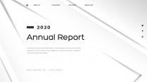【创意几何】高端黑色总结报告工作计划商务展示模板