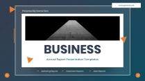 商务年度总结汇报PPT模板
