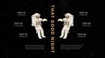 【星空诗意】人人都有宇航员的梦想&宇宙太空主题模板示例7