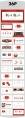 【商务】轻中式红白灰年终总结6示例8