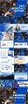 【办公】蓝色欧美项目述职计划总结报告示例8
