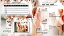 【日暖风和】极简高端橘色商务工作总结年终汇报项目示例7