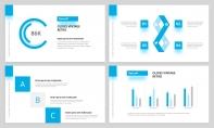 【简约商务】完整流程蓝色杂志风工作汇报PPT模板示例4