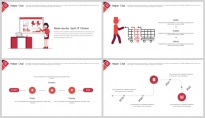 【商务大咖】几何公司企业品牌推广策划工作PPT示例6