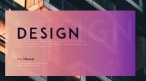 【风尚】紫色渐变商务提案总结汇报PPT模板