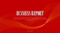 【商务】红色金色年中总结汇报&述职工作模板38
