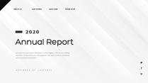 【创意几何】高端黑灰黑总结报告工作计划商务展示模板