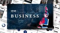 【簡約商務】繁華城市年終述職入職報告模板