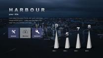 【大都市圈】大气简约城市风格商务模板示例4