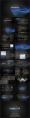 【简约黑蓝】渐变波纹科技动感模板【含五套】示例8