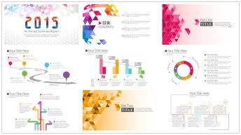 2015简洁清晰的商务报告06