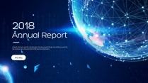 创意星空现代科技总结报告商务策划模板02
