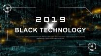 科技风商务模板【简洁实用PPT模板39】