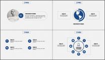 科技IT互联网工作总结汇报PPT模板示例3