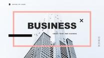 【简约商务】创意多排版多用途总结报告商务汇报模板3