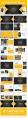 黄色杂志风商务汇报PPT模板示例8
