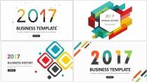 多彩创意年终总结工作汇报新年计划模板合集【含四套】