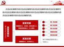 【党风廉政】大气简约党建年终总结报告示例6