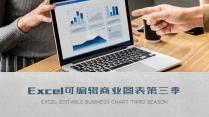 Excel可編輯商業圖表第三季