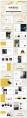 【四套合集】创意大理石多用途总结报告商务汇报模板示例6