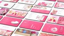 超甜粉色简洁时尚通用模板示例2