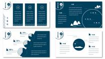 【和风】简约小清新日式风格PPT模板示例5