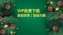 圣诞元素素材|背景图 | VIP免费