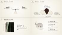 【素雅简约线条商务模板10】极简创意时尚清晰文艺范示例3