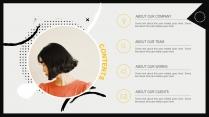 【创意】时尚干净简约演讲提案品牌PPT模板示例3
