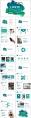 【抽象艺术】 现代商务总结工作汇报模板(含四套)示例5