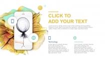【炸裂科技】油彩绚丽创意视觉品牌总结大气模版示例6