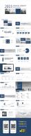 【实战系列01】扁平化·商务蓝·简洁实用模板示例6