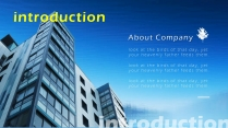【藍色風格】簡約實用商業計劃書項目報告示例4