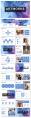【抽象水彩】简约商务图文混排模板示例3