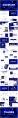 【线条】创意深蓝渐变线条ppt模板02示例3