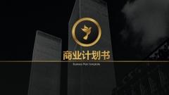 【黑金】豪华霸气商业计划书模板