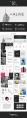 【粉色】黑色欧美极简扁平化产品画册模板示例3
