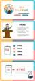 彩色簡潔通用個人競聘述職報告示例3