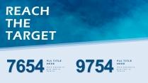 【海洋蓝】欧美简约实用商业计划书PPT模板示例5