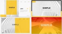 【简约商务】创意多排版多用途模板【含四套】