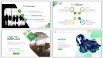 2018绿色极简时尚网页风PPT模板示例4