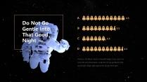 【星空诗意】人人都有宇航员的梦想&宇宙太空主题模板示例6
